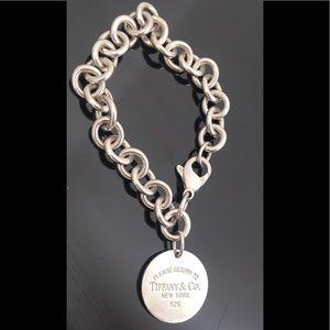 Tiffany & Co. Jewelry - Vintage TIFFANY & CO. 925 Silver Charm Bracelet